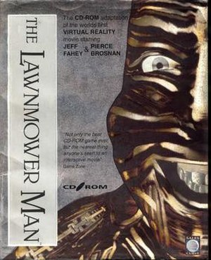 The Lawnmower Man (video game) - Image: The Lawnmover Man PC Cover