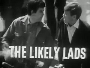 The Likely Lads - Opening title used for the third series, showing Bewes as Bob (left) and Bolam as Terry