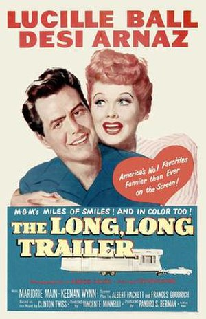 The Long, Long Trailer - Image: The Long, Long Trailer poster