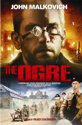 The Ogre (1996 film) - Theatrical release poster