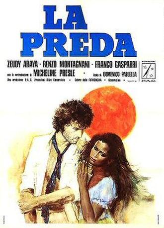 The Prey (1974 film) - Italian theatrical release poster