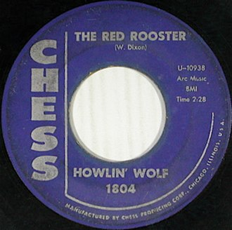 Little Red Rooster - Image: The Red Rooster single cover