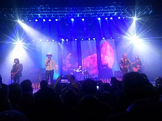 "The Tragically Hip - Performing ""The Wherewithal"" at the House of Blues in Boston, Massachusetts, 2015."