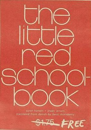 The Little Red Schoolbook - Cover of the first edition
