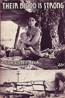 <i>The Harvest Gypsies</i> series of articles by John Steinbeck