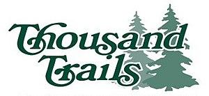Thousand Trails - Image: Thousand Trails logo