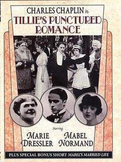 <i>Tillies Punctured Romance</i> (1914 film) 1914 film by Mack Sennett