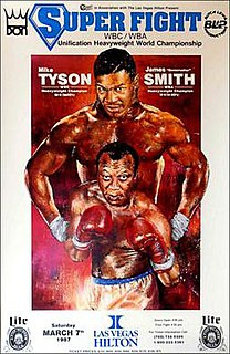 Mike Tyson vs. James Smith Boxing competition