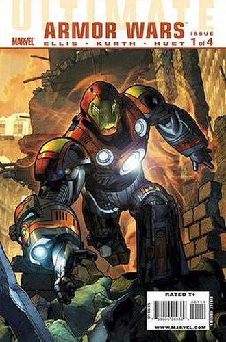 Ultimate Comics: Armor Wars - Cover of Ultimate Comics: Armor Wars