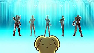 Ultraman Zero - The Ultimate Force Zero meets Wooser in episode 1, season 3 of Wooser's Hand-to-Mouth Life.