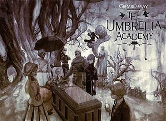 The Umbrella Academy - Promotional artwork
