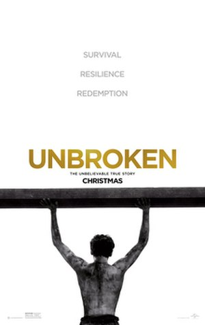 Unbroken (film) - Theatrical release poster
