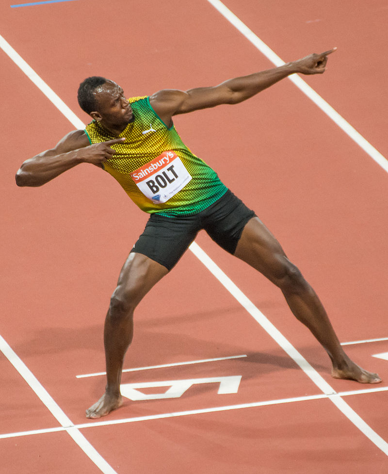 Usain Bolt, Anniversary Games, London 2013.jpg