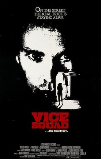 Vice Squad (1982 film) - 2006 DVD release cover