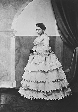 Victoria, Princess Royal - The Princess Royal at her Confirmation, 20 March 1856.