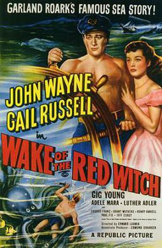 Wake of the Red Witch - Theatrical release poster