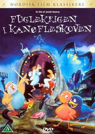 War of the Birds - Danish DVD cover