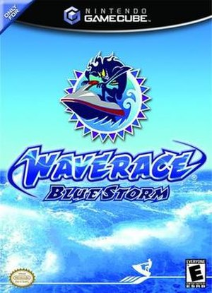 Wave Race: Blue Storm - North American box art