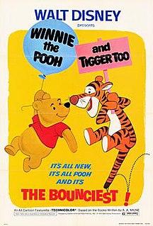 <i>Winnie the Pooh and Tigger Too</i> 1974 film directed by John Lounsbery