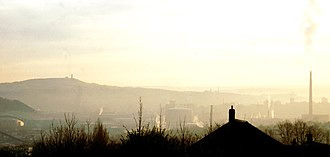 Fartown, Huddersfield - Image: Woodhouse hill