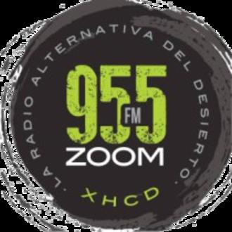 XHCD-FM - Image: XHCD 955ZOOM logo
