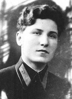 Yekaterina Budanova Soviet fighter pilot