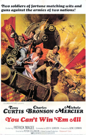 You Can't Win 'Em All - 1970 film poster by Frank McCarthy