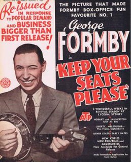 <i>Keep Your Seats, Please</i> 1936 film by Monty Banks