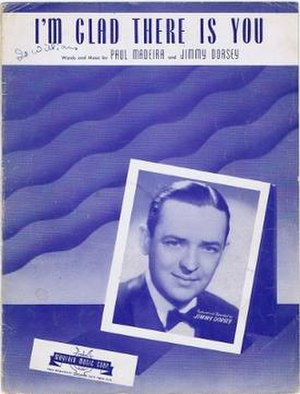 "I'm Glad There Is You - 1942 sheet music cover for ""I'm Glad There Is You"", Mayfair Music Corp., New York."