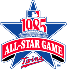 1985 Major League Baseball All-Star Game logo.png
