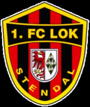 1. FC Lok Stendal - Image: 1 FC Lok Stendal