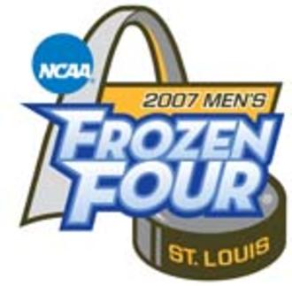 2007 NCAA Division I Men's Ice Hockey Tournament - 2007 Frozen Four logo