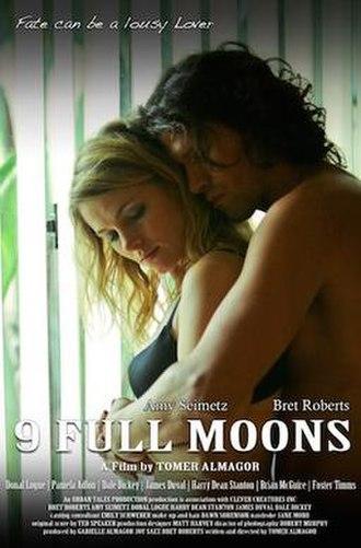 9 Full Moons - Official release poster for 9 Full Moons