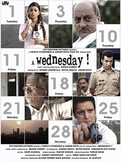 Picture of a movie: A Wednesday!