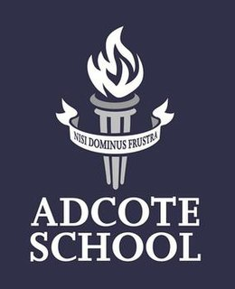 Adcote School Independent day and boarding school in Shrewsbury, Shropshire, England