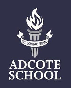 Adcote School - Image: Adcote logo