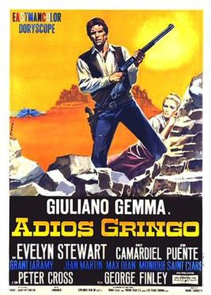 Adiós gringo - Italian theatrical release poster