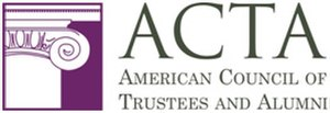 American Council of Trustees and Alumni - Image: American Council of Trustees and Alumni (logo)