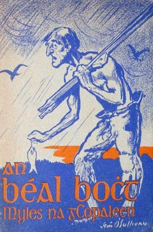An Béal Bocht - Cover of the first edition