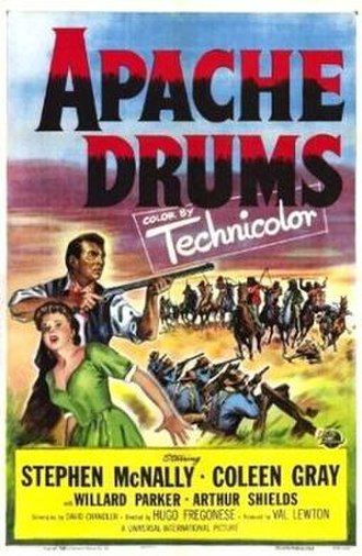 Apache Drums - Theatrical release poster