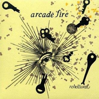 Rebellion (Lies) - Image: Arcade fire rebellion lies DVD single