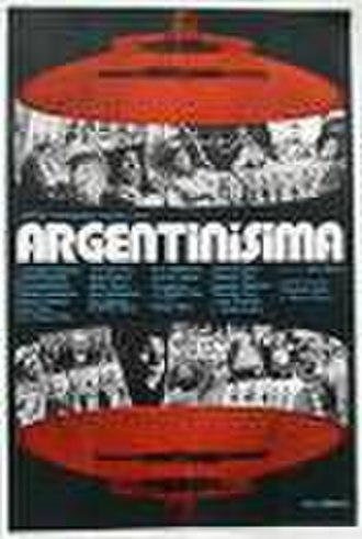 Argentinísima - Promotional Poster