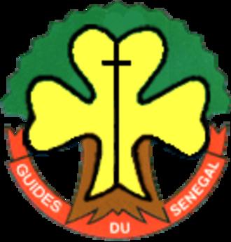 Association des Scouts et Guides du Sénégal - Badge of Guides du Sénégal