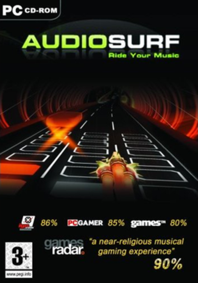 Picture of a game: Audiosurf