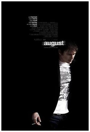 August (2008 film) - US Theatrical release poster