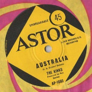Australia (The Kinks song) - Image: Australia Kinks