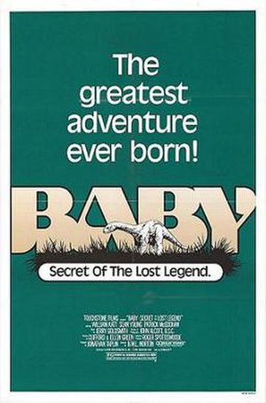Baby: Secret of the Lost Legend - Theatrical release poster