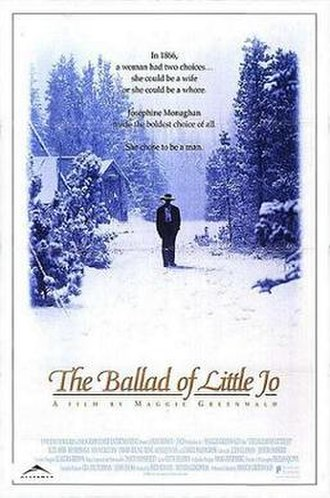 The Ballad of Little Jo - Theatrical release poster