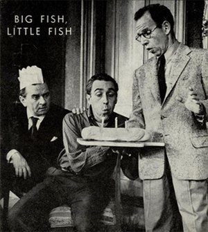 Big Fish, Little Fish (play) - Martin Gabel, Jason Robards and Hume Cronyn in Act I