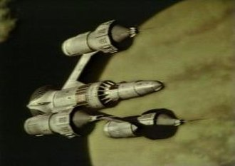 Blake's 7 - Liberator, the alien starship used by Blake and his crew for series 1 to 3.